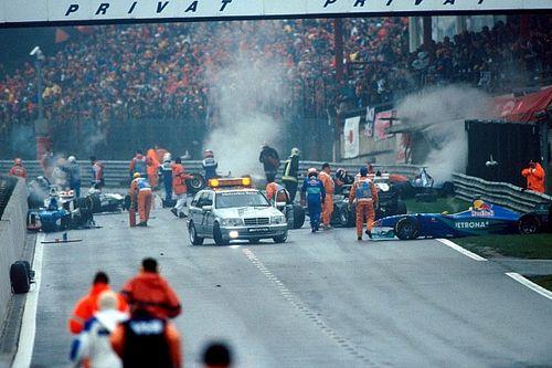 Как это было: Гран При Бельгии'98, когда почти все столкнулись на первом круге