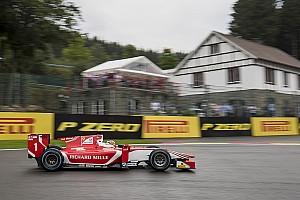 FIA F2 Reporte de calificación Leclerc también manda en la F2 bajo la lluvia de Spa
