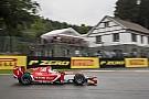 FIA F2 Leclerc también manda en la F2 bajo la lluvia de Spa