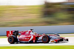 FIA F2 Practice report F2 Barcelona: Leclerc tercepat di latihan, Gelael posisi ke-14