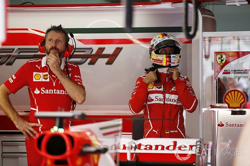 Videón Vettel drámája