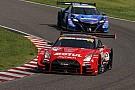 Les voitures du Super GT en piste à Hockenheim