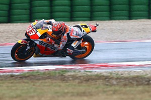 MotoGP Репортаж з гонки Гран Прі Сан-Маріно: Маркес вирвав перемогу на останньому колі