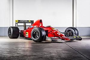 Формула 1 Спеціальна можливість Революційний болід Ferrari Ф1 виставлений на аукціон