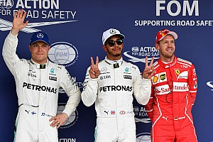 F1 排位赛报告 日本大奖赛排位赛:汉密尔顿势不可挡,首次在铃鹿摘下杆位