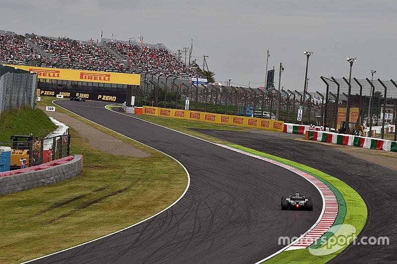 F1 sürücüleri, 130R'de