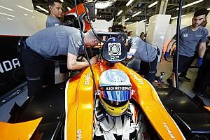Формула 1 Новость Honda испытала новую версию двигателя на машине Алонсо