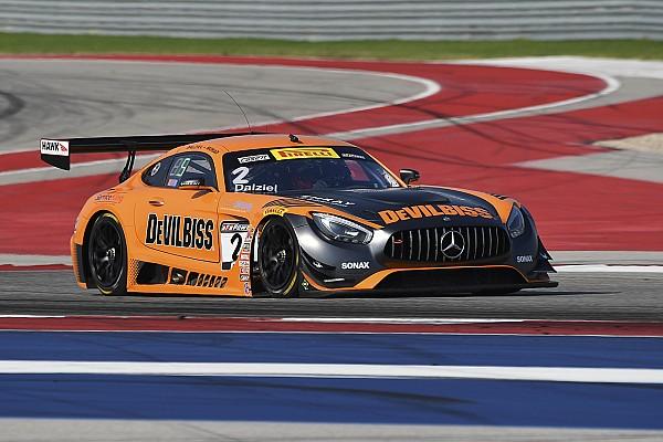 PWC Austin PWC: Dalziel and Morad drive CRP Mercedes to SprintX win