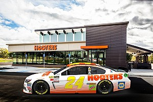 NASCAR Cup Breaking news Hooters to back Chase Elliott in 2017