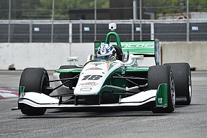 Indy Lights Qualifying report Toronto Indy Lights: Kaiser clinches third pole of 2017
