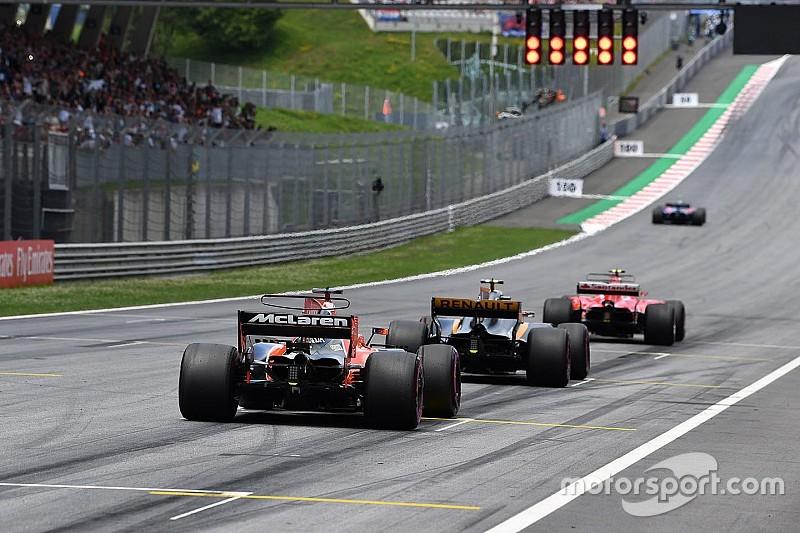 Los duelos entre compañeros en clasificación - GP de Austria
