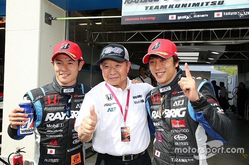【スーパーGT】オートポリス予選GT500:100号車NSXが今季初ポール!