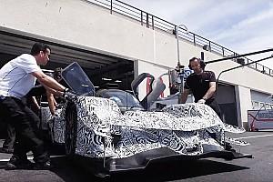 IMSA Actualités Le nouveau prototype Acura ARX-05 se montre au Castellet