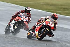 MotoGP Gara Marquez batte Petrucci a Misano e riaggancia Dovi nel Mondiale