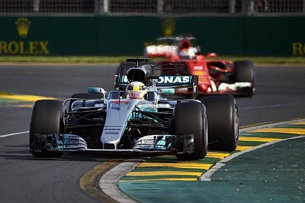 Formule 1 Actualités Pour Hamilton, Vettel est un plus grand rival que Rosberg