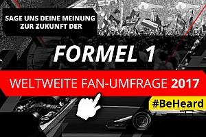 Motorsport Network startet weltweite Fan-Umfrage zur Formel 1