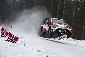 WRC Stage report Sweden WRC: Latvala takes lead as Neuville loses wheel