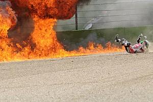 World Superbike Galería GALERÍA: secuencia del impactante choque de Laverty en Imola