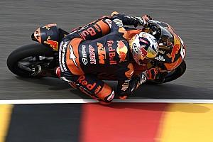 Moto3 Verslag vrije training Warm-up GP Duitsland: P4 Bendsneyder op opdrogende Sachsenring