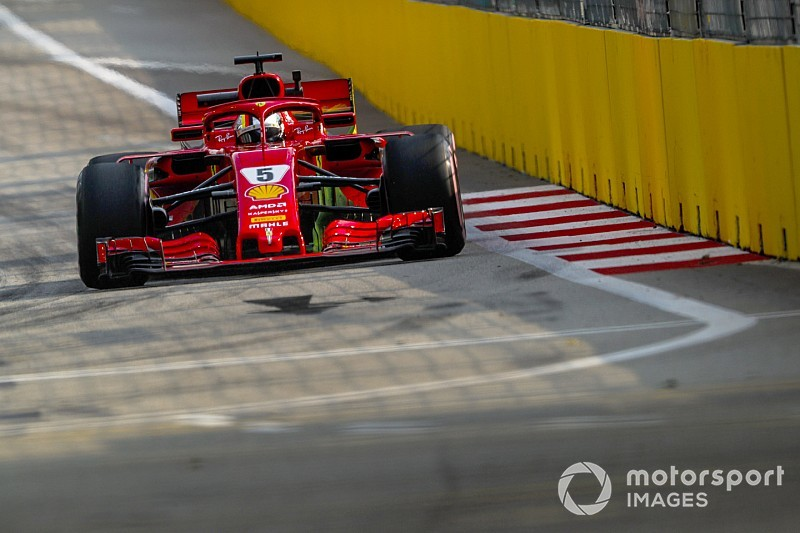 Singapore spill adds to Vettel's self-induced pressure