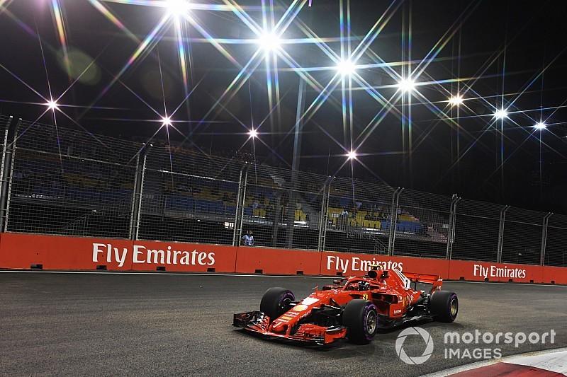 FP2 GP Singapura: Raikkonen unggul tipis dari Hamilton