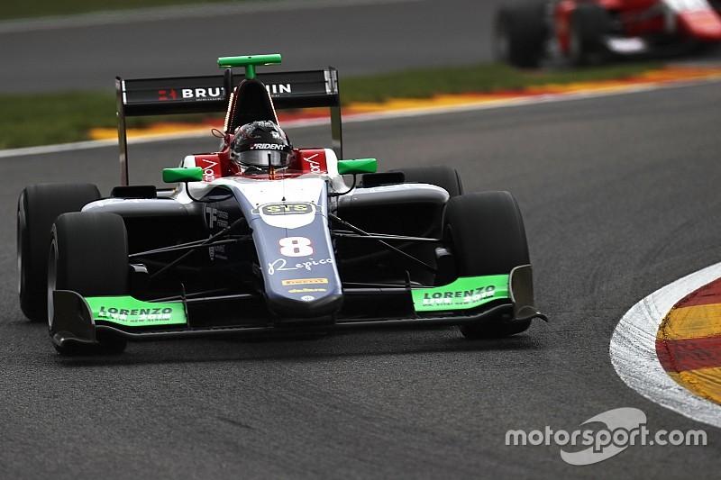 Бекманн впервые в карьере выиграл гонку GP3