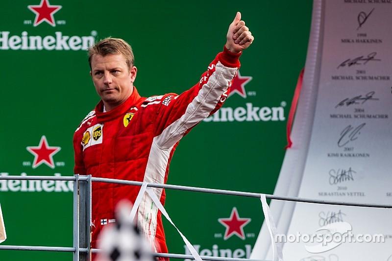 RESMI: Kimi Raikkonen tinggalkan Ferrari