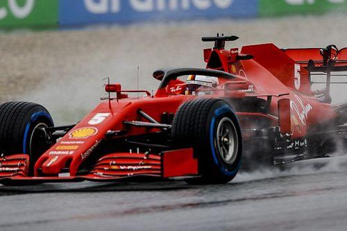 """Vettel: """"Araçta hiç hız yoktu"""""""