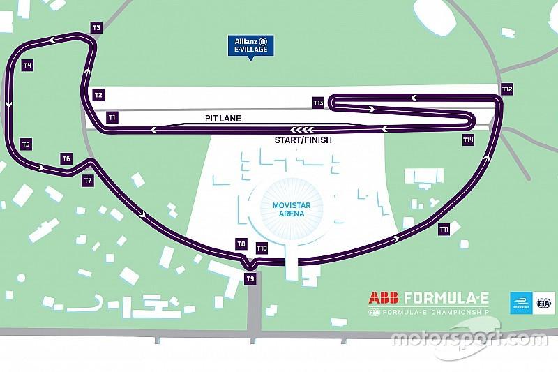 La Formula E continuerà a correre a Santiago del Cile, ma su un nuovo tracciato!