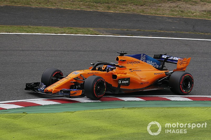 Alonso did not leave