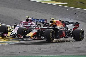 GALERÍA: en fotos el contacto entre Ocon y Verstappen