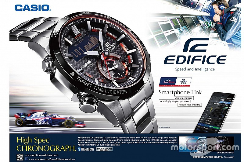 Casio EDIFICE ECB800: The watch that evolved through motorsport