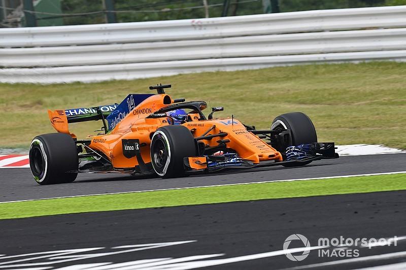 Renault, McLaren break curfew after oil arrives late