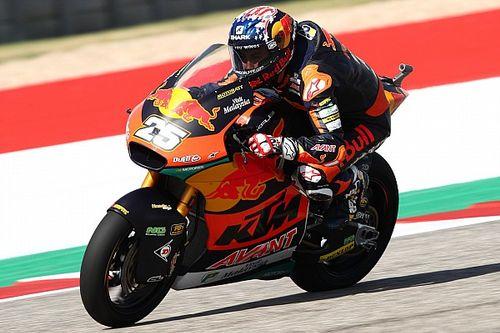 Moto2, Austin: Raul Fernandez in pole davanti a Gardner, 3° Di Giannantonio.