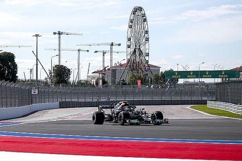 俄罗斯大奖赛FP1:博塔斯领衔梅赛德斯占据前二