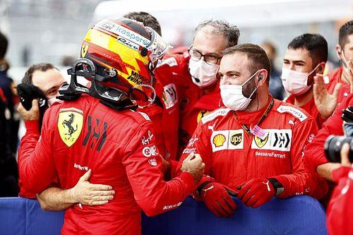 """Sainz trots na Russische GP: """"Mijn sterkste weekend bij Ferrari"""""""