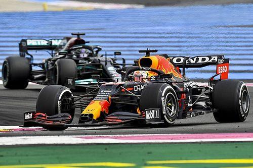 Mercedes kan halve seconde tijdverlies op Verstappen niet verklaren