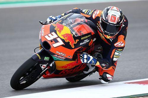 "Moto3ポルトガル決勝:アコスタ2連勝、16歳が才能""本物""をアピール。佐々木4位で表彰台逃す"