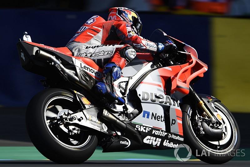 MotoGP Le Mans 2. antrenman: Dovizioso tur rekoruyla lider