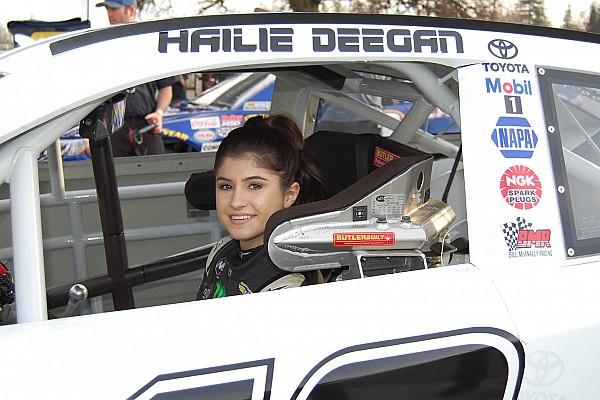NASCAR Interview Hailie Deegan: More barriers can be broken in post-Danica era - video