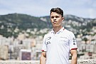 FIA F2 Monaco F2: De Vries dominates practice after Norris clash
