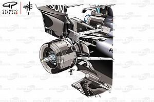 Fórmula 1 Análisis La ventaja que obtiene Mercedes con su suspensión trasera única
