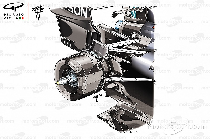 How Mercedes gains from its unique rear suspension