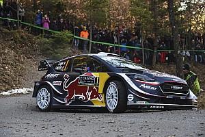 WRC Resumen de la etapa Ogier cerró el viernes en Montecarlo como líder