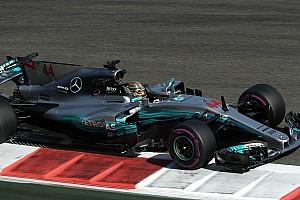 2017 Abu Dhabi GP 3. antrenman: Hamilton ve Mercedes lider!
