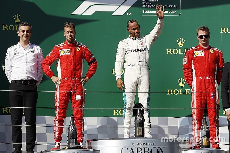 Macaristan GP: Hamilton kazandı, Vettel ikinci oldu!