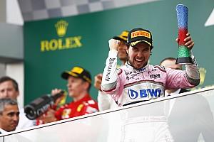 Formel 1 Reaktion Trotz Strafe: Sergio Perez' irrer Ritt zum Baku-Podium