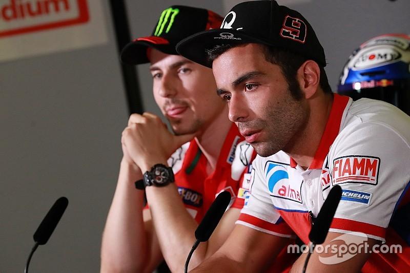 Petrucci niet blij met uitspraken Lorenzo over Ducati-promotie