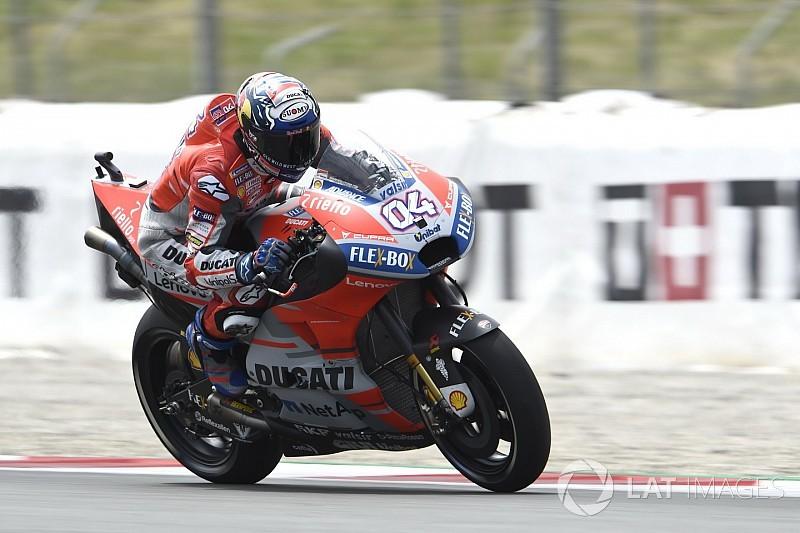 Barcelona MotoGP: Dovizioso tops FP3, Marquez to Q1