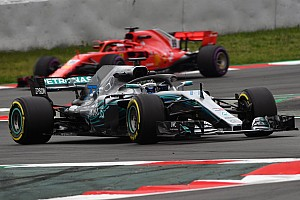 Formel 1 Testbericht Barcelona-Test: Mercedes schlägt Ferrari - trotz härterer Reifen